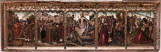 Predella with the Resurrection of Christ