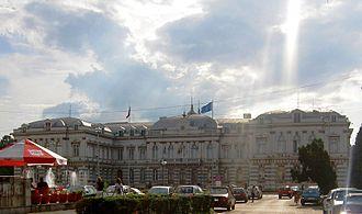 Prefect (Romania) - Image: Prefectura Bacau