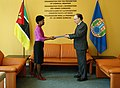 Presentation of Letters of Credentials Mozambique OPCW (47568790582).jpg