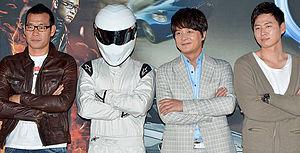 Top Gear Korea - Presenters and The Stig of Top Gear Korea Season 2.