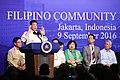 President Rodrigo Duterte addresses the Filipino community in Indonesia during his working visit in the country on September 9 (3).jpg