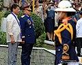 President Rodrigo Duterte at Camp Crame.jpg