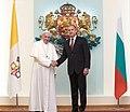 President Rumen Radev Welcomes His Holiness Pope Francis in Bulgaria, 2019-05-05 02.jpg
