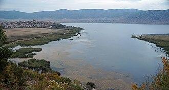 Dolna Gorica - Dolna Gorica and Lake Prespa