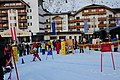Pretty crowded is the Wirl skiresort in the spring holiday. Very suitable for little children - panoramio.jpg