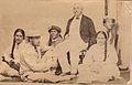 Prince Alfred with John Brander and Titaua and Moetia, 1870.jpg