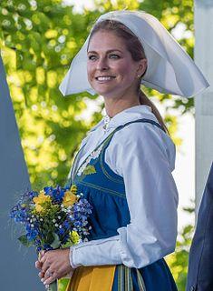 Princess Madeleine, Duchess of Hälsingland and Gästrikland Swedish princess