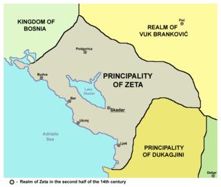 Zeta under the Balšići