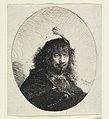 Print, Rembrandt with Plumed Hat and Lowered Sabre, 1634 (CH 18383895).jpg