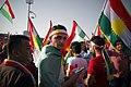 Pro-Kurdistan referendum and pro-Kurdistan independence rally at Franso Hariri Stadiu, Erbil, Kurdistan Region of Iraq 16.jpg