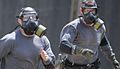 ProFor run an obstacle course while wearing CBRN masks at SPOTC 2012 in South Carolina.jpg