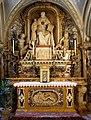 Prospero sogari e girolamo spani su dis. di girolamo mazzola-bedoli, altare di san bernardo degli uberti vescovo, 1544, 02.jpg