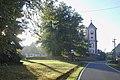 Prostiboř, náves a kostel.jpg