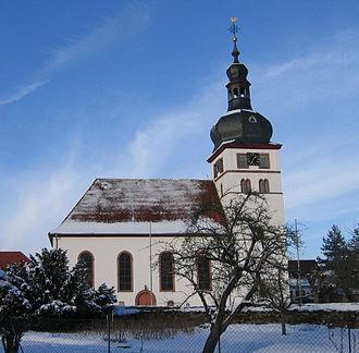 Enkenbach-Alsenborn - Image: Protestantische Kirche in Alsenborn Hans Buch