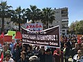 Protests in Dikili against migrants deported back to Turkey from Greece, 2 April 2016.jpg