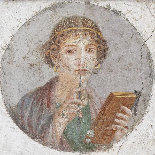 pompeii fresco woman - image 4