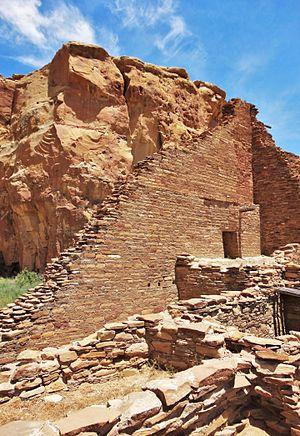 Pueblo Bonito - Pueblo Bonito from the south
