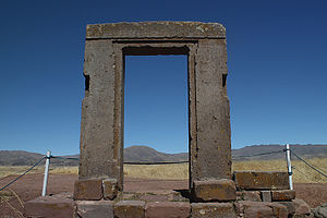 Tiwanaku - Gate of the Moon.