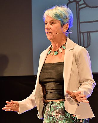 Susan Blackmore - Blackmore at QED 2016 talking about out-of-body experiences.