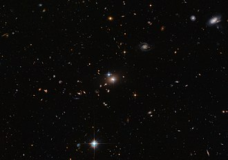 Wheeler's delayed-choice experiment - Image: QSO B0957+0561