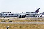 Qatar Airways (A7-BEV) Boeing 777-3DZ(ER) at Sydney Airport.jpg