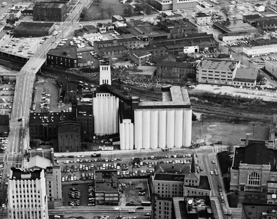 Quaker Oats factory, Akron