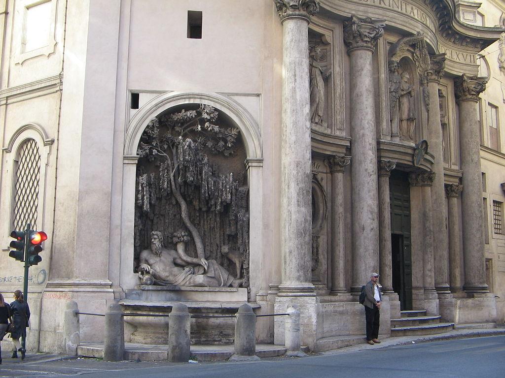 четыре фонтана, фонтаны рима