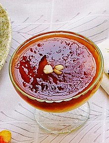 Qubani ka Meetha ( Apricot Sauce with Custard ).jpg