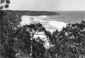 Queensland State Archives 242 Alexandria Beach looking towards Hells Gates Noosa c 1931.png