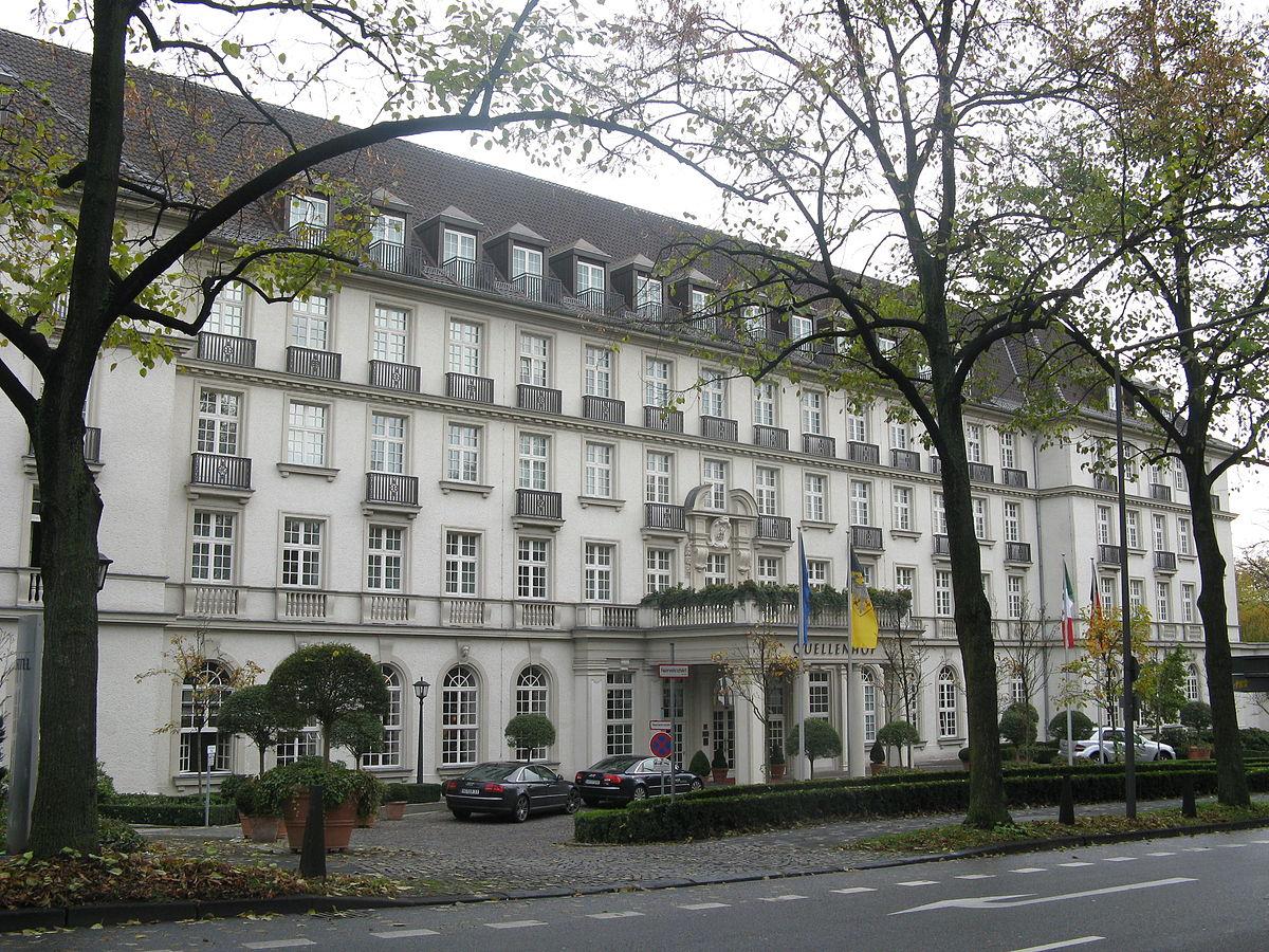 Hotel Pullman Aachen Quellenhof Aachen Deutschland
