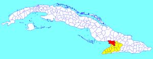 Río Cauto, Cuba - Image: Río Cauto (Cuban municipal map)