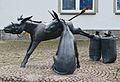 Rüthen Eselgruppe vor dem neuen Rathaus 1.JPG
