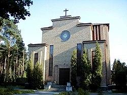 Rīga, Kristus karaļa katoļu baznīca 2002-08-08.jpg