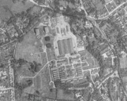 RAF Stanmore Park aerial 1945