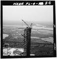 REMOVAL OF HAMMERHEAD CRANE. - Mobile Launcher One, Kennedy Space Center, Titusville, Brevard County, FL HAER FLA,5-TIVI.V,1-24.tif