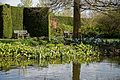 RHS Garden Hyde Hall, Essex, England ~ Upper Pond border and benches.jpg