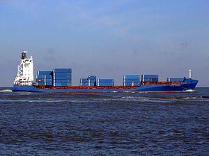 Rachel Borchard approaching Port of Rotterdam 25-Jan-2007.jpg