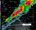 Radar image of severe thunderstorms and cold front over Marion County, Kansas.png