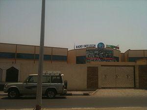 Telecommunications in Djibouti - Radio Television of Djibouti headquarters in Djibouti City.