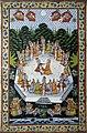 Radha, Krishna and the gopis, Bharatiya Lok Kala Museum, Udaipur, India.jpg