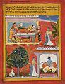 Radhika's Manifest Agitation (Prakasha Udvaiga), Folio from a Rasikapriya (The Connoisseur's Delights) LACMA M.80.223.2.jpg