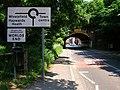 Railway Bridge, Leylands Road, Worlds End - geograph.org.uk - 844140.jpg