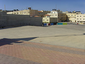 Mukataa - The Mukataa with the headquarters of the President of the PLO, 2007