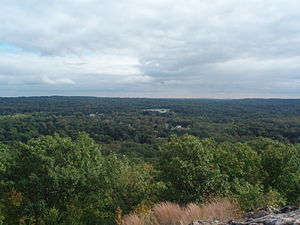Ramapo, New York - View of Ramapo from mountain
