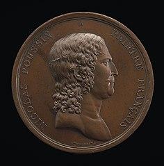 Nicolas Poussin, 1594-1665, Painter [obverse]