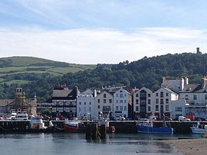 Ramsey, Isle of Man - Image: Ramsey Isle of Man harbour July 2015