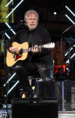 Randy Bachman, doing an accoustic performance ...