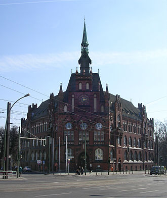 Lichtenberg (locality) - The Neo Gothic city hall