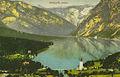 Razglednica Bohinjskega jezera 1913.jpg