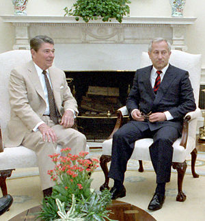 World War III - President Ronald Reagan and Soviet double agent Oleg Gordievsky, who later told the west how close the Able Archer 83 exercise had brought the Soviets to ordering a First Strike.